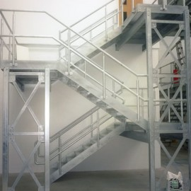 Need some bespoke steel fabricated stairs for your factory of office.