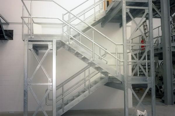 Bespoke steel staircases