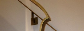 Bespoke steel railings